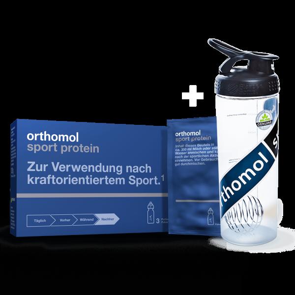 Orthomol Sport Protein mit Shaker