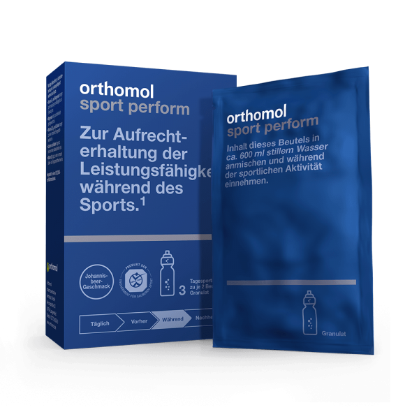 Orthomol Sport Perform 3er Probierpackung